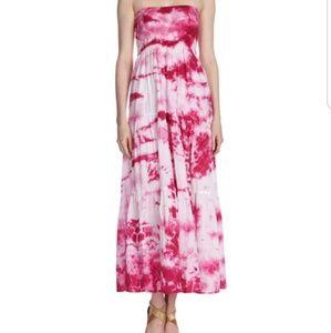 Michael Kors Silk Tye Dye Maxi